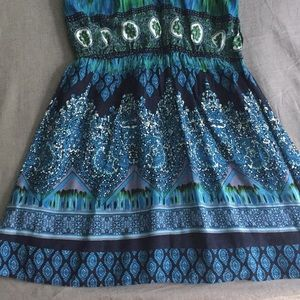 Patrons of Peace Dresses - Strappy Boho Skater dress NWOT Tilly's